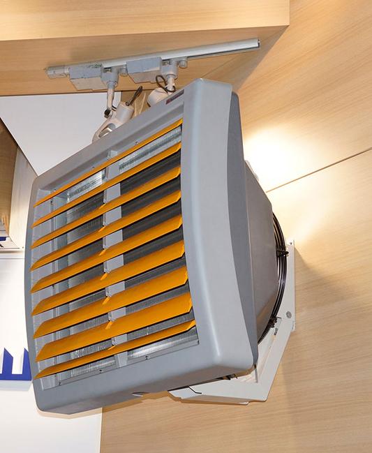 Водяной радиатор с вентилятором 178